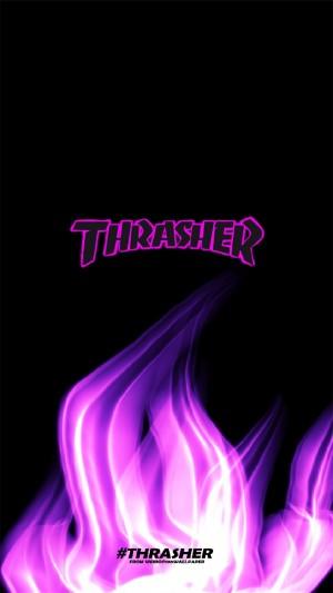 Thrasher滑板酷炫高清手机壁纸