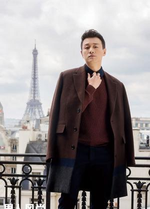 佟大为《男人风尚LEON》绅士杂志封面写真