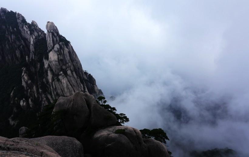 安徽黄山风景图片