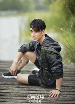 吴尊阳光帅气杂志写真