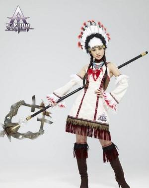 印第安美女杨丞琳演绎别样风采