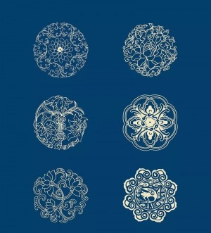 中国风花纹传统经典图片