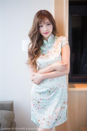 气质女神杨晨晨sugar小甜心CC旗袍系列写真