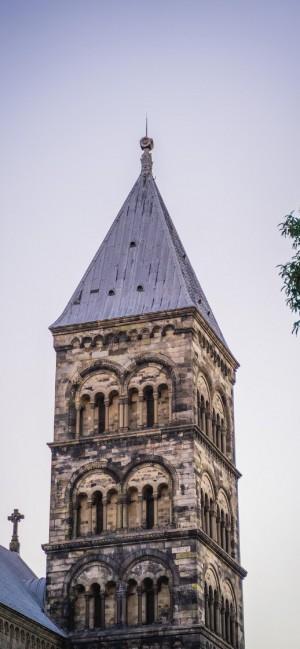 独特西方城堡建筑高清手机壁纸