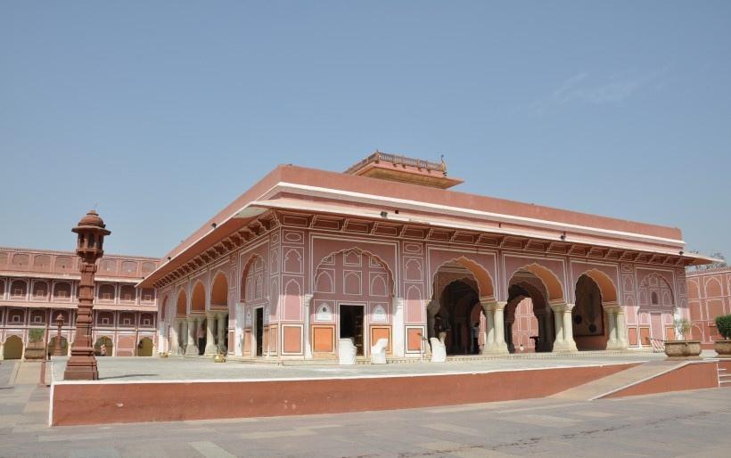 印度城市宫殿写真图片