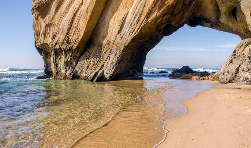 葡萄牙海岸风景