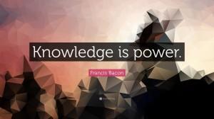 英国哲学家弗朗西斯·培根关于知识的经典名言