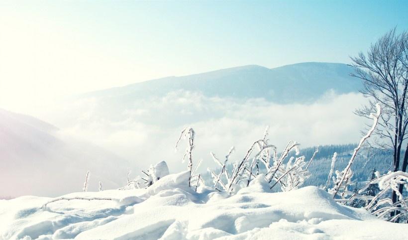 冬日绝美雪景摄影写真