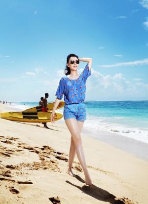 美女陈数欢乐巴厘岛之旅