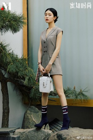 文咏珊简约优雅女人味时尚多变造型夏日写真