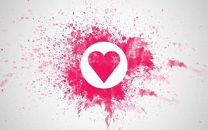 love心形爱情背景图片