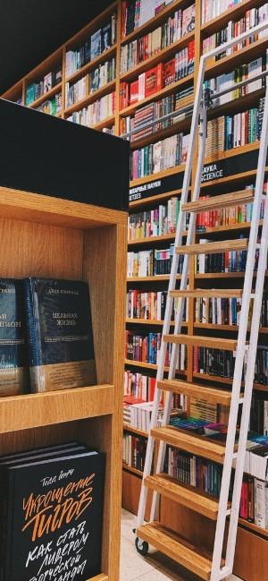 书香图书馆摄影图片手机壁纸
