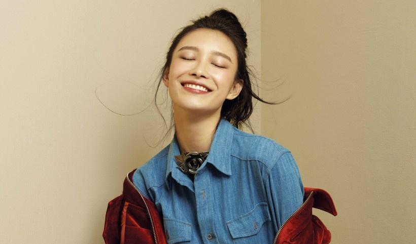 天生丽质 美女演员倪妮率性写真