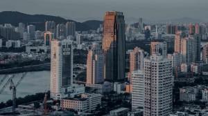 繁华林立的城市高楼