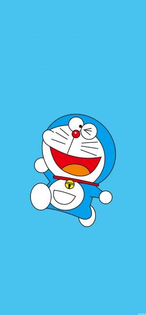 蓝胖子哆啦A梦可爱高清手机壁纸
