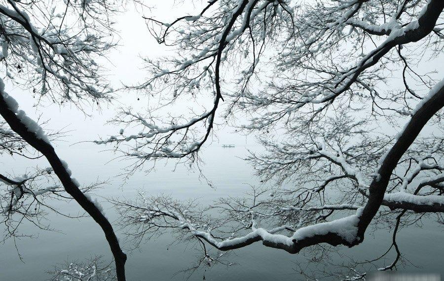空灵绝美西湖雪景韵情让人流连