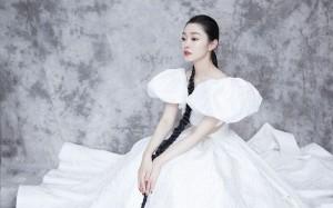 宋轶镂空白裙大片高清桌面壁纸