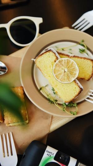 香甜美味柠檬面包