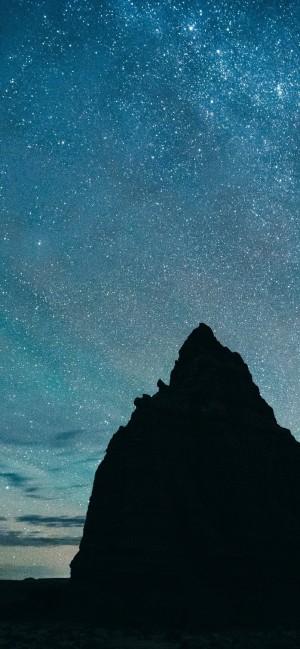 大自然迷人夜空高清摄影图片手机壁纸