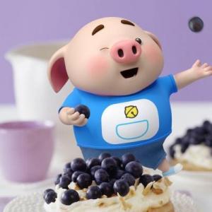 超可爱的福猪头像,2019福猪微信头像图片