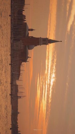 唯美黄昏城市风光摄影手机壁纸 第一辑