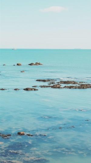 清新养眼海边风景唯美高清手机壁纸