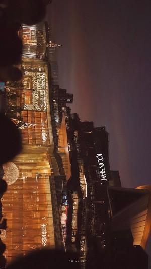 唯美夜景城市一角风光摄影手机壁纸