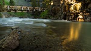 蒙大拿州河流风景壁纸