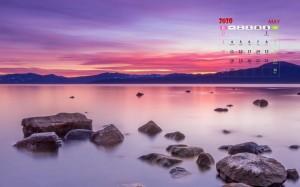 2020年5月如画山水唯美清新风光美景日历写真