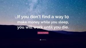 沃伦·巴菲特关于财富的经典语录