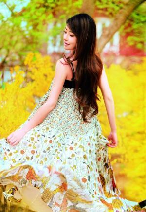 花仙子时尚清纯美丽写真