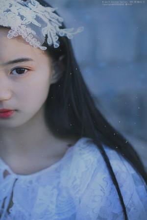 张雅钦温柔仙气纱裙写真图片