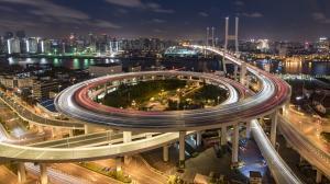 高架桥立交架图片