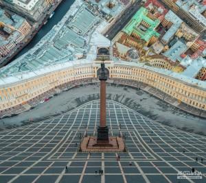 摄影师的创意俄罗斯城市建筑