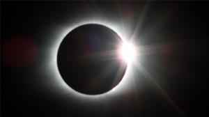 创意日食现象景观图片