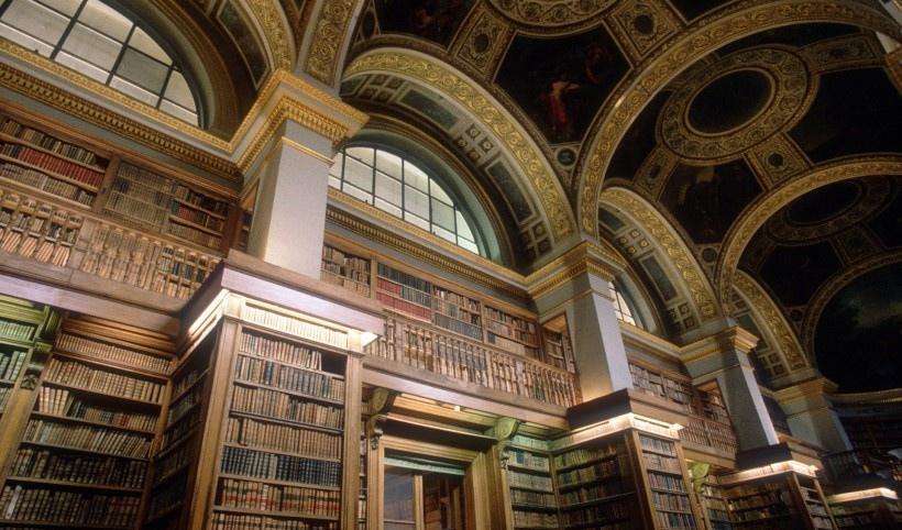 葡萄牙马夫拉图书馆风景图片