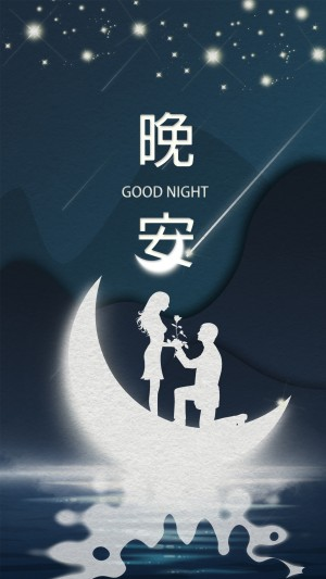 晚安之月亮代表我的心