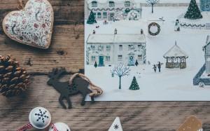 圣诞节唯美静物创意图片壁纸