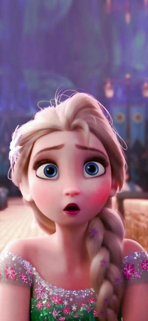 迪士尼公主《冰雪奇缘》中女主角艾莎