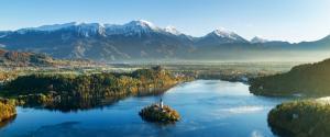 斯洛文尼亚布莱德风景壁纸
