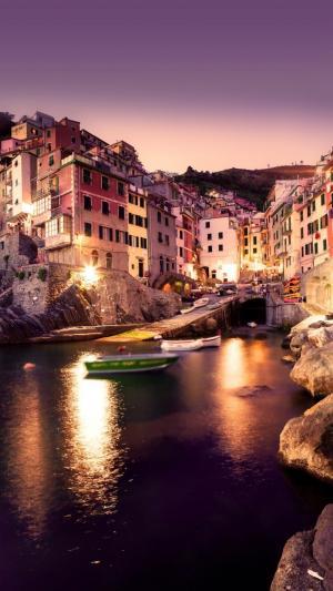 歐洲迷人的夜色