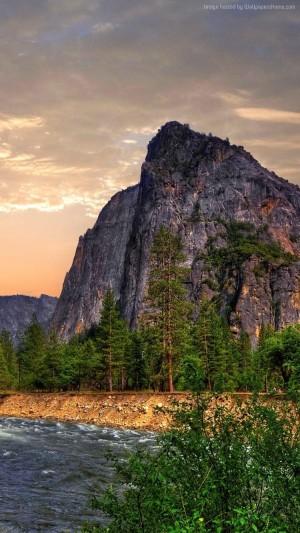优胜美地国家公园风景手机壁纸