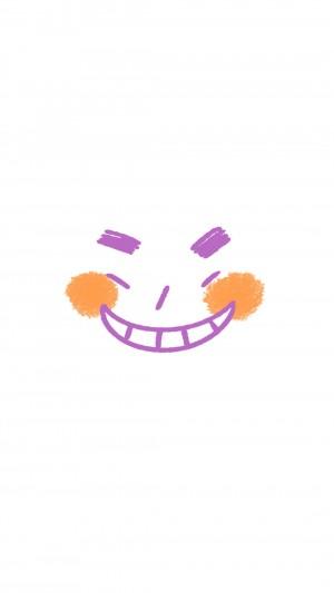 极简生动表情个性搞笑高清手机壁纸