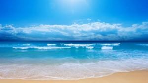 波澜壮阔的大海风光桌面壁纸