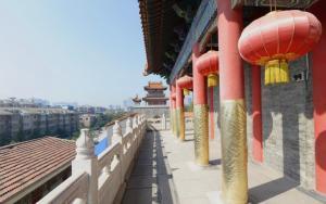 陕西西安云居寺风景写真
