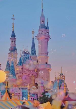 梦幻唯美的迪士尼风光