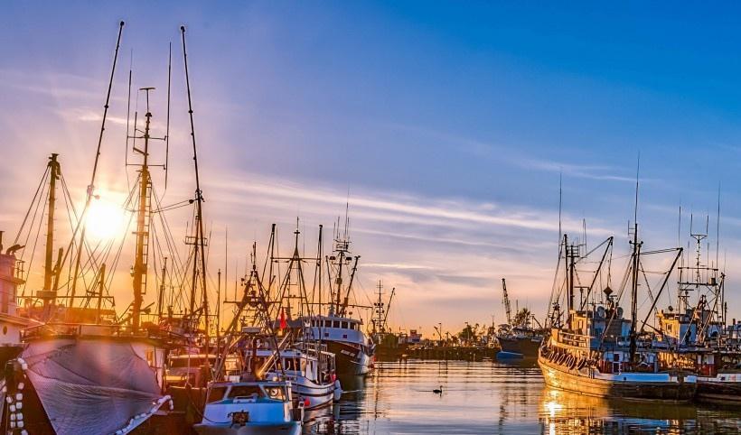 美国旧金山渔人码头风景写真图片