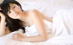 日本女星松木里菜
