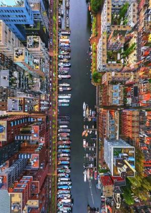 运河之上的阿姆斯特丹