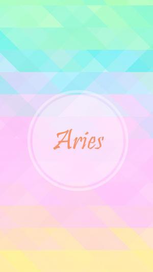 白羊座Aries简约图片